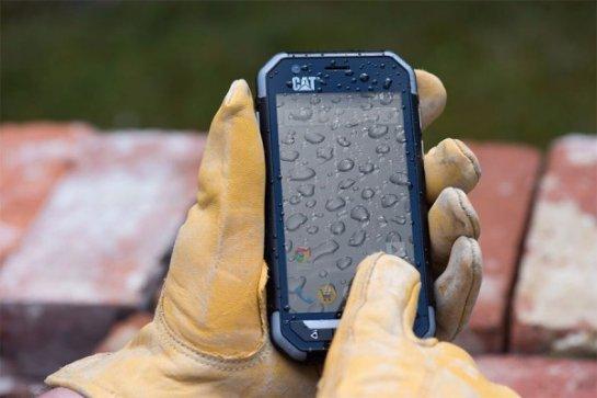 Вышел в продажу защищенный смартфон Cat S30