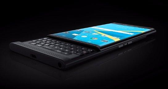 Обнародованы некоторые технические характеристики  BlackBerry  Priv