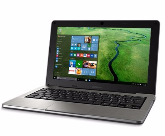 Вышел в продажу миниатюрный ноутбук  Medion Akoya S2218