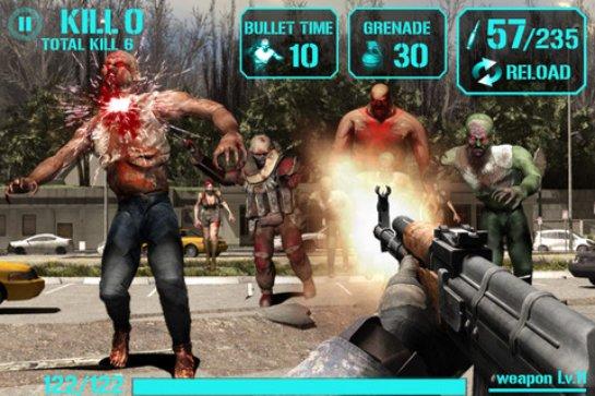 Обзор игры iGun Zombie