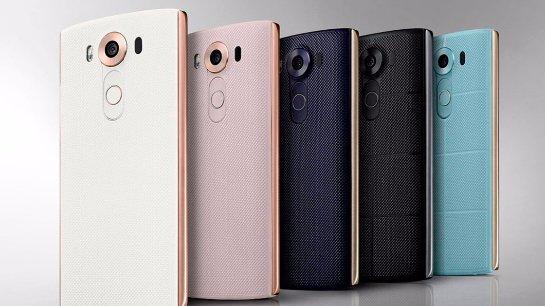 В сети появились первые снимки смартфона LG V10
