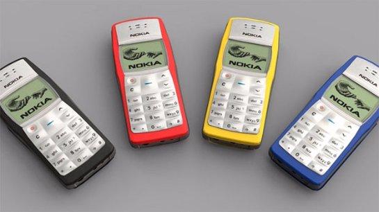Nokia 1100 признан самым продаваемым телефоном