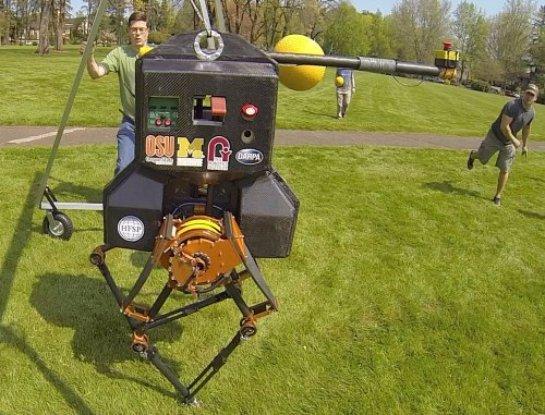 Разрабатывается робот, который сможет обогнать человека