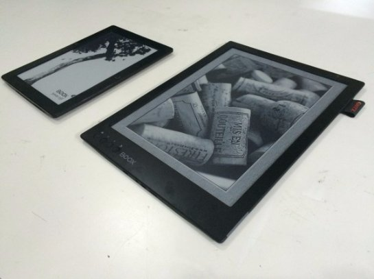 Создана электронная книга с огромным экраном