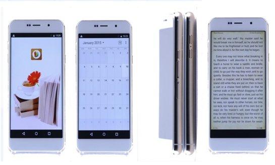 Siam 7X- уникальный смартфон, который может распознавать отпечатки ушей