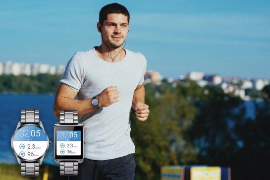 OXY — часы, которые могут работать со смартфонами на операционных системах Android, iOS и Windows
