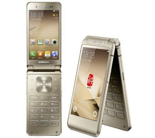 Официально представлен флагманский смартфон-раскладушка  Samsung W2016