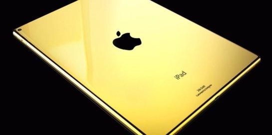 Ювелиры выпустили золотую модель планшета iPad Pro