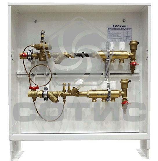 Шкафы для отопления: легкость в монтаже и идеальная ниша для счетчиков