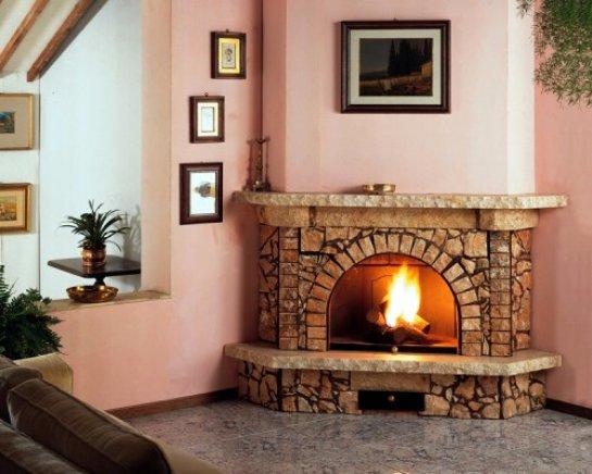 Камин как важный элемент интерьера гостиной