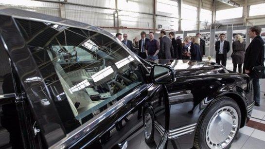 Лимузин для Путина будет выпускаться под брендом Мономах