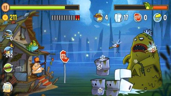 Swamp Attack — испытание для настоящих героев