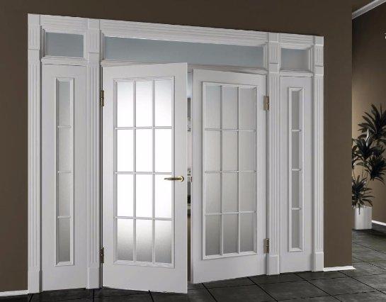 Новое дизайнерское решение: белые межкомнатные двери