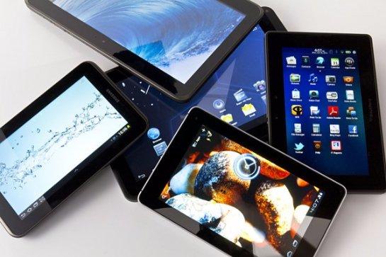 Рынок планшетов стремительно падает