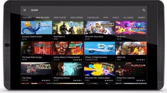 Официально представлен игровой планшет Shield Tablet K1