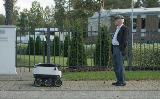 В Англии собираются выпустить робота для доставки продуктов из магазина