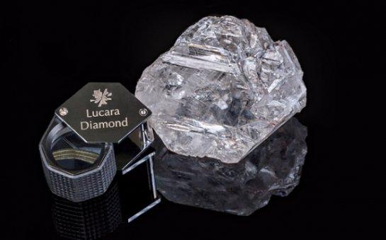 Самый крупный алмаз века нашли в Ботсване