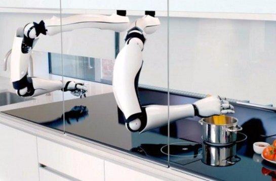 Роботов научили готовить различные блюда