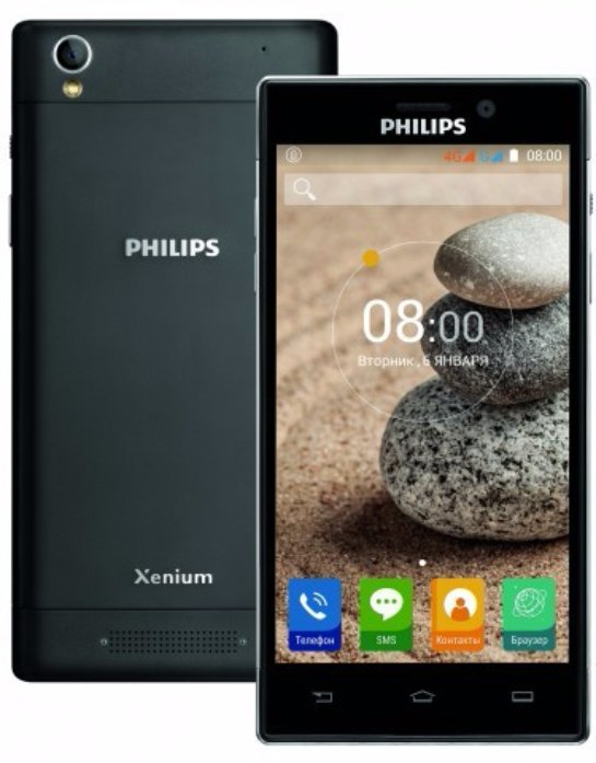 Philips Xenium V787 – надежный смартфон с мощной батареей