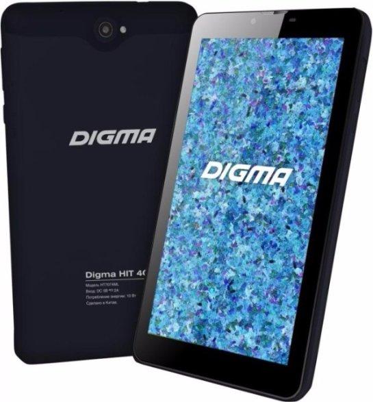 Доступен планшет Digma HIT 4G