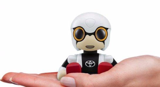 Toyota занимается разработкой робота-помощника