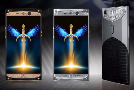 HANMAC Knight — смартфон для настоящих рыцарей