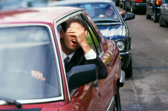 Транспортные пробки опасны для сердца
