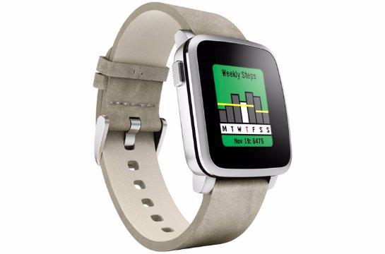 «Умные» часы Pebble теперь могут следить за здоровьем