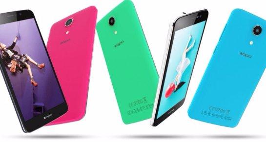 Состоялась презентация смартфона Zopo Color S5.5