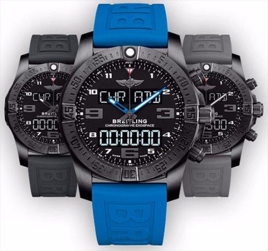 Breitling выпустила  очень дорогие «умные» часы Exospace B55