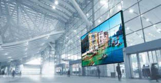 Модульные экраны огромных размеров