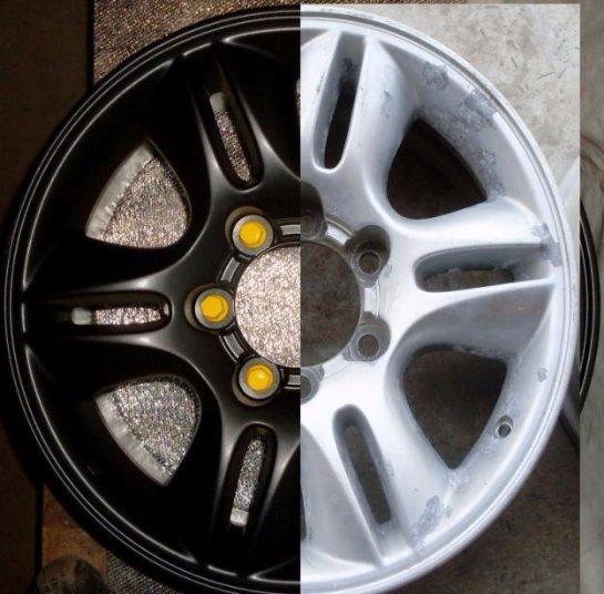 Качественное обслуживание автомобиля: ремонт и покраска литых дисков