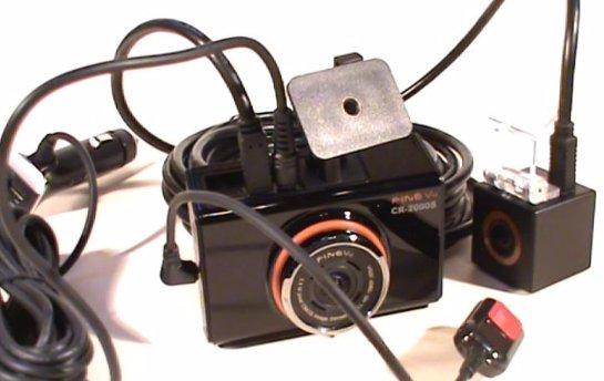 Обзор видеорегистратора FineVu CR-2000S