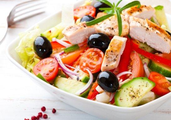 Красивый «Греческий» салат на любой праздник