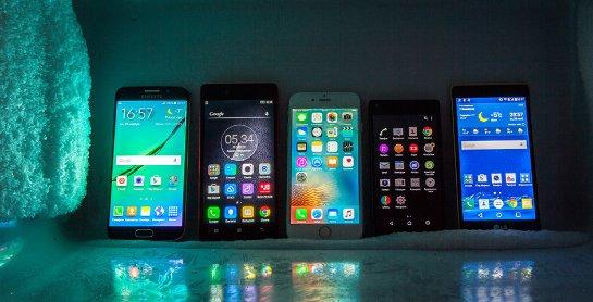 Что может случиться со смартфонами в мороз