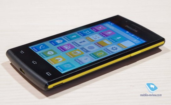 Возможности нового смартфона Philips S307