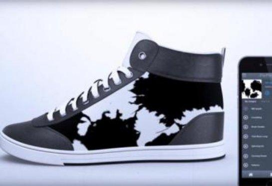 «ShiftWear» — необычные кроссовки, дизайн которых можно изменить в любой момент (ВИДЕО)
