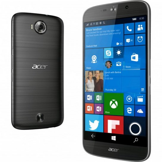 Смартфон Acer Jade Primo с Windows 10 стоит 600 евро