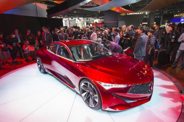 Acura Precision - новая философия дизайна автомобилей