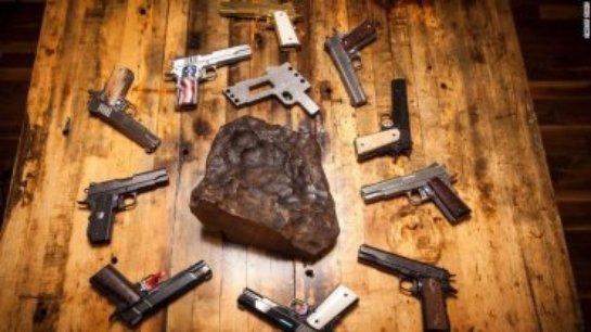 Ученые создадут оружие из метеорита, упавшего на Землю 4,5 млрд лет назад