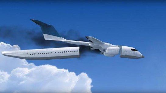 Изобретение будущего: самолет с отделяющимся салоном