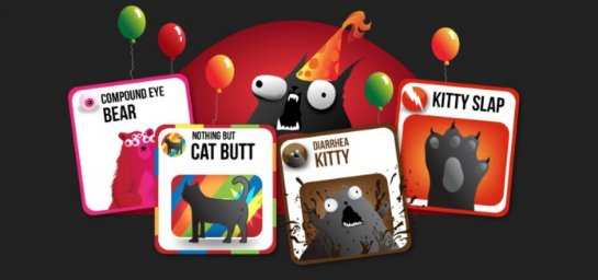 Exploding Kittens: успешнейший проект Kickstarter идет на смартфоны