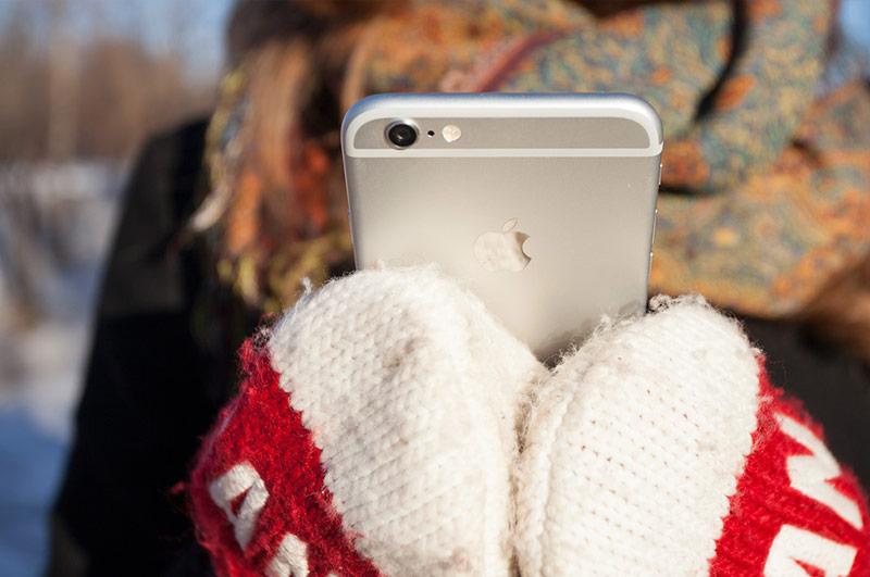 iPhone 6 против Galaxy S6 edge, Xperia Z5 Compact и Lenovo Vibe Shot: тест на устойчивость к морозам