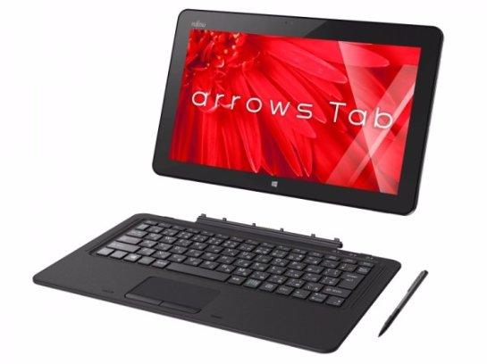 Анонсирован планшетный компьютер Fujitsu Arrows Tab RH77/X