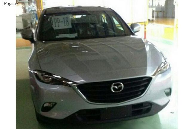 Mazda готовит новый кроссовер