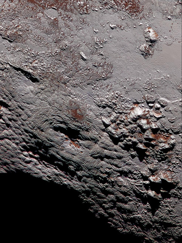 Криовулкан на Плутоне (фото)