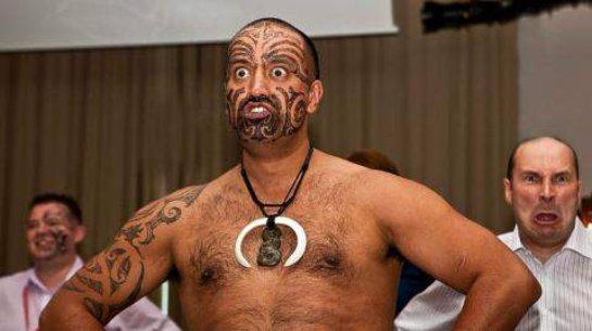 Ритуальный танец Маори взорвал Сеть