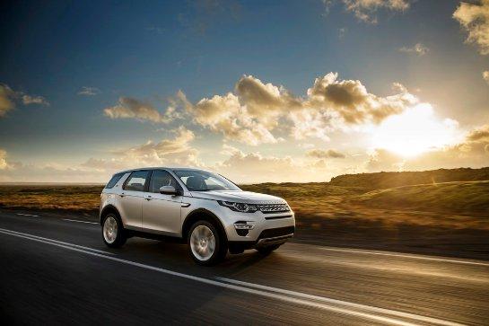 Претендент на звание «Автомобиля года в Украине 2016»: Land Rover Discovery Sport
