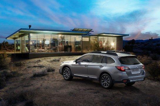 Претендент на звание «Авто года в Украине 2016» среди среднеразмерных кроссоверов: Subaru Outback