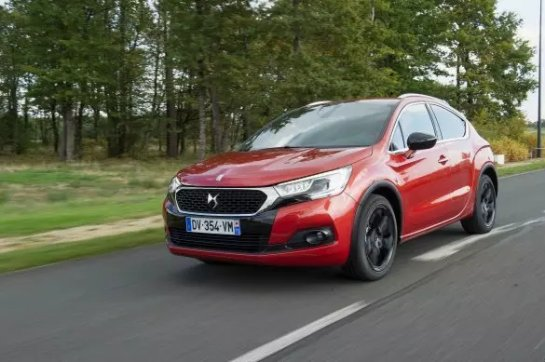 В Украине презентовали DS 4 Crossback